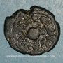 Münzen Palestine. Umayyades, vers 115-125H. Fals anonyme à la grenade