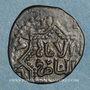 Münzen Syrie. Ayyoubides d'Alep. al-Zahir (582-613H). Br, Fals 6(03)-6(12)H, (Alep)