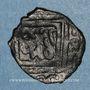 Münzen Syrie. Mamlouks bahrites. Isma'il (743-746H).  Fals 74XH, Hamah
