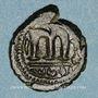 Münzen Syrie. Monnayage arabo-byzantin. Umayyades. Epoque Mu'awiya (?) (41-60H). Fals bilingue sans atelier