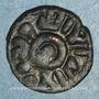 Münzen Syrie. Umayyades, vers 80-90 H. Fals anonyme, Hims