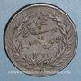 Münzen TTunisie. Ottomans. Abdoul Mejid & Muhammad, bey (1272-76H = 1856-60). 13 nasri 1272H (= 1855). Tuni