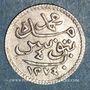Münzen Tunisie. Abdoul Mejid, sultan avec Muhammad, bey (1272-1276H). 4 kharub 1274H