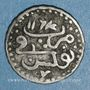 Münzen Tunisie. Ottomans. Mahmoud I (1143-1168H). Kharub 1164H. Tunis