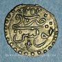 Münzen Tunisie. Ottomans. Mahmoud II (1223-1255H). Kharub 1252H. Tunis
