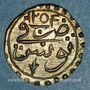Münzen Tunisie. Ottomans. Mahmoud II (1223-1255H). Kharub 1254H. Tunis