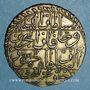 Münzen Tunisie. Ottomans. Mahmud II (1223-1255H). 8 kharub 1242H. Tunis