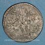 Münzen Tunisie. Ottomans. Mahmud II (1223-1255H). 8 kharub 1245H. Tunis