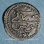 Münzen Tunisie. Ottomans. Mustafa III (1171-1187H). Kharub 1172H. Tunis