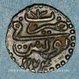 Münzen Tunisie. Ottomans. Mustafa III (1171-1187H). Kharub 1174H. Tunis