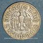 Münzen 3e reich (1933-1948). 2 reichsmark 1933 A