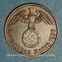 Münzen 3e Reich (1933-1948). 2 reichspfennig 1937 D