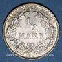 Münzen Allemagne. 1/2 mark 1906D