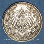 Münzen Allemagne. 1/2 mark 1913J