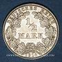 Münzen Allemagne. 1/2 mark 1914J