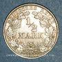 Münzen Allemagne. 1/2 mark 1916D
