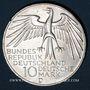 Münzen Allemagne. 10 mark 1972 D. Jeux olympiques. Stade
