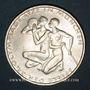 Münzen Allemagne. 10 mark 1972D. Jeux olympiques. Sportif et sportive