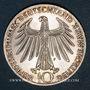 Münzen Allemagne. 10 mark 1972F. Jeux olympiques. Sportif et sportive