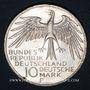 Münzen Allemagne. 10 mark 1972F. Jeux olympiques. Stade