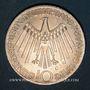 Münzen Allemagne. 10 mark 1972G. Jeux olympiques. Spirale, in München