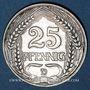 Münzen Allemagne. 25 pfennig 1910 D