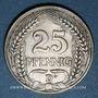 Münzen Allemagne. 25 pfennig 1911D