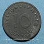 Münzen Allemagne. 3e reich (1933-1948). 10 reichspfennig, zinc,  1940F