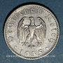 Münzen Allemagne. 3e reich (1933-1948). 50 reichspfennig, aluminium, 1935E