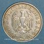 Münzen Allemagne. 3e Reich. 5 reichsmark 1935 D Hindenbourg