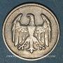 Münzen Allemagne. République de Weimar. 1 mark 1924F