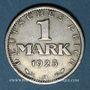 Münzen Allemagne. République de Weimar. 1 mark 1925A