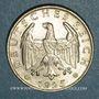 Münzen Allemagne. République de Weimar. 2 reichsmark 1925F