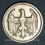 Münzen Allemagne. République de Weimar. 3 mark 1924 D