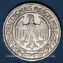 Münzen Allemagne. République de Weimar. 50 reichspfennig 1928 D