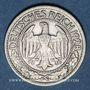 Münzen Allemagne. République de Weimar. 50 reichspfennig 1928D