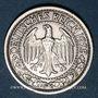 Münzen Allemagne. République de Weimar. 50 reichspfennig 1928E