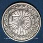 Münzen Allemagne, République de Weimar, 50 reichspfennig 1928F