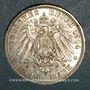 Münzen Anhalt. Frédéric II (1904-1918). 3 mark 1914A Noces d'argent