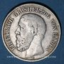 Münzen Bade. Frédéric I, grand-duc (1856-1907). 2 mark 1876G