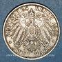 Münzen Bade. Frédéric I, grand-duc (1856-1907). 2 mark 1902.