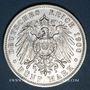 Münzen Bade. Frédéric I, grand-duc (1856-1907). 5 mark 1900G