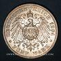 Münzen Bade. Frédéric I, grand-duc (1856-1907). 5 mark 1904G