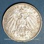 Münzen Bade. Frédéric II (1907-1918). 3 mark 1912G