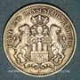 Münzen Hambourg. Ville. 2 mark 1904J