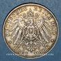 Münzen Hambourg. Ville. 3 mark 1910J