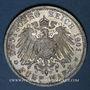Münzen Prusse. Guillaume II (1888-1918). 5 mark 1901 Bicentenaire