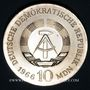 Münzen République Démocratique allemande, 10 mark 1966, 125e anniversaire de K. F. Schinkel