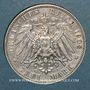Münzen Saxe. Frédéric Auguste III (1904-1918). 3 mark 1909E