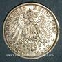 Münzen Saxe-Weimar-Eisenach. Guillaume Ernest (1901-1918). 3 mark 1910A